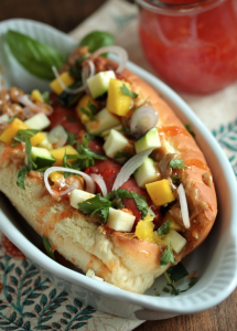 Sweet Chili Thai Dog-www.countrycleaver.com