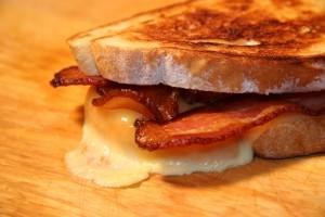 bacon melt