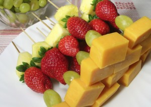 Cheese Kabob