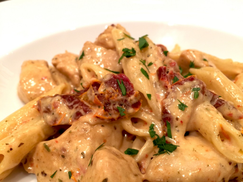 Chicken-Pasta-with-Sun-Dried-Tomatoes